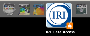 figure 3 - IRI toolbar icon