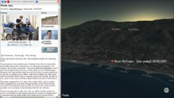 Paola Sunrise, imagery from the virtual earth plugin